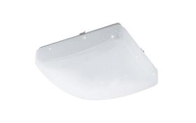 LED-Deckenleuchte Giron-RW in weiß/eckig