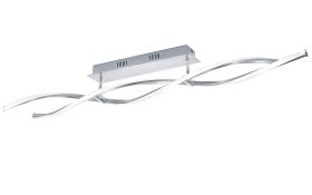 LED-Deckenleuchte Polina in nickel matt