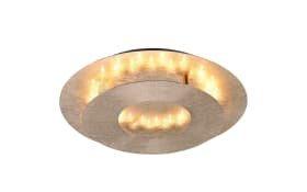 LED-Decken/-Wandleuchte Nevis in Blattgold-Optik, 32 cm