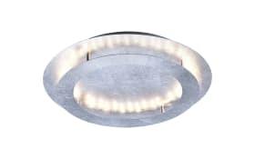 LED-Deckenleuchte Nevis in Blattsilber-Optik, 50 cm