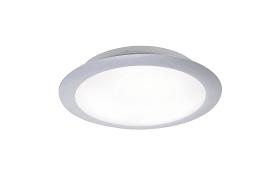 LED-Deckenleuchte Satob in silberfarbig, 30 cm