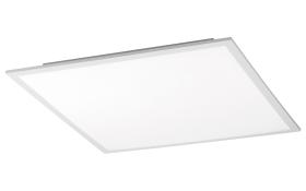 LED-Deckenleuchte Hades in weiß, 45 x 45 cm