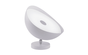 LED-Tischleuchte Q-Alexis in weiß, 35 cm