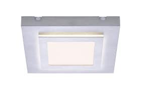 LED-Deckenleuchte Tiling in silber, Satellite