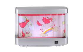 LED-Tischleuchte Unicorn in rosa