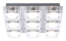 LED-Deckenleuchte Jakob in weiß
