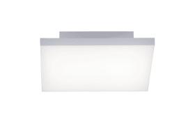 LED-Deckenleuchte Frameless in weiß, 30 x 30 cm