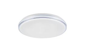 LED-Deckenleuchte Q-Benno in chromfarbig, 49 cm