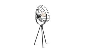 Tischleuchte Fabio in schwarz, 67 cm