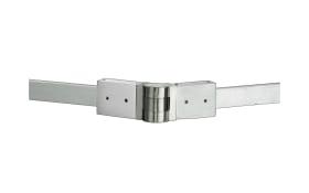 MH-Stromschienenverbinder 21910 Track 3 in nickel matt, 10,4 cm