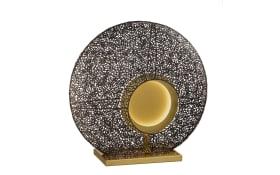 LED-Tischleuchte Mina in rost/-goldfarbig