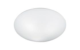 Deckenleuchte Valor in weiß opal, 42 cm