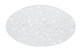 LED-Deckenleuchte Diamond in weiß, 39 cm