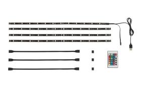 LED-Stripes für den TV, 2 m