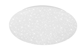 LED-Deckenleuchte Starlight in weiß, 40 cm