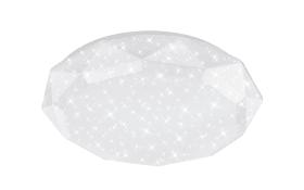 LED-Deckenleuchte Cosmos in weiß, 80 cm