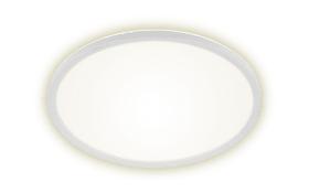 LED-Deckenleuchte Flat Panel in weiß/rund, 42 cm