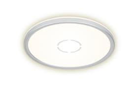LED-Deckenleuchte Free in weiß/silber, 30 cm