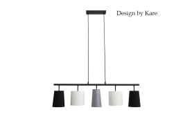 Pendelleuchte Design by Kare, 5-flammig