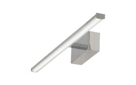 LED-Wandleuchte Nala in chromfarbig, 50 cm