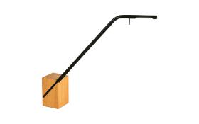 LED-Tischleuchte Viktor in schwarz