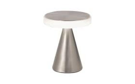 LED-Tischleuchte Neutra in nickel satiniert