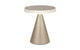 LED-Tischleuchte Neutra in gold matt