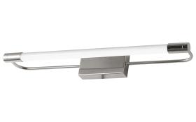 LED-Wandleuchte Rapallo in chromfarbig, 40 cm