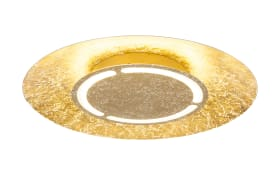 LED-Deckenleuchte Tabea in goldfarbig, 50 cm