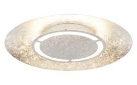 LED-Deckenleuchte Matteo in silberfarbig, 50 cm