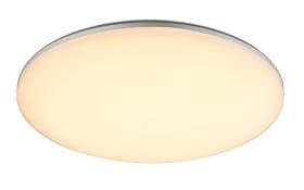 LED-Deckenleuchte Dori in opal weiß, rund