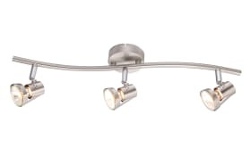 LED-Deckenleuchte 57351-3LED in nickel matt, 3-flammig