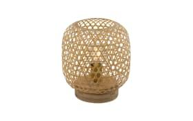 Tischleuchte Mirena mit Bambusschirm, 27 cm