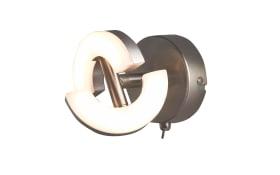 LED-Wandleuchte Buster in nickel matt