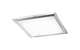 LED-Deckenleuchte Era CCT in weiß/silber, 60 x 60 cm