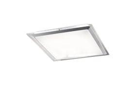 LED-Deckenleuchte Era CCT silber, 45 x 45 cm