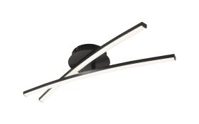 LED-Deckenleuchte Jambo in schwarz