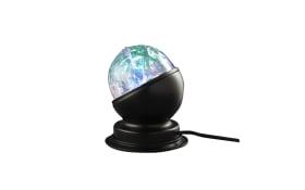 RGB-LED-Tischleuchte Flash in schwarz