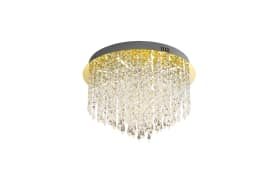 LED-Deckenleuchte Palace in messing, 40 cm