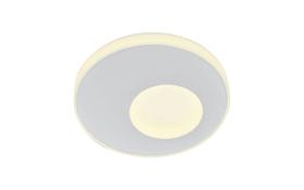 LED-Deckenleuchte CCT Mars in weiß