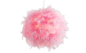 Pendelleuchte Ducky in pink, 30 cm