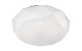LED-Deckenleuchte in weiß