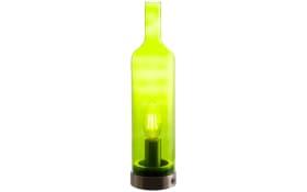 Tischleuchte Bottle in grün