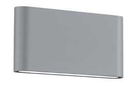 LED-Wandleuchte Thames II in titanfarbig, 17,5 cm