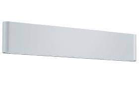 LED-Außenwandleuchte Thames II in weiß, 46, 5 cm.