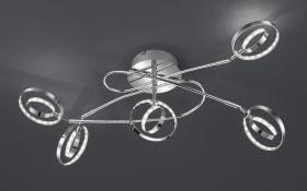 LED-Deckenleuchte Prater in chrom