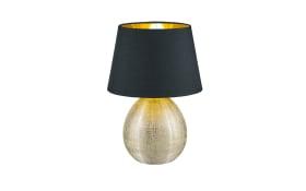 Tischleuchte Luxor in gold/schwarz, 35 cm