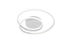 LED-Deckenleuchte Zibal in weiß