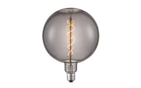 LED-Leuchtmittel Diy Globe in rauchfarbig, 6W / E27, 23 cm