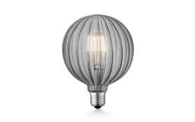 LED-Leuchtmittel Diy Globe in rauchfarbig 4W / E27, 17 cm